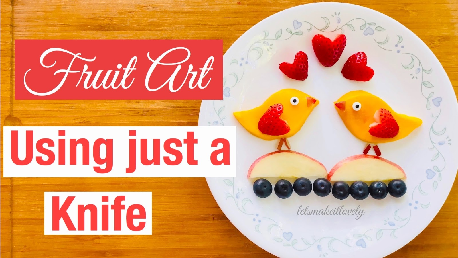 Mango Birds, Fruit art, Healthy food for kids, Healthy food for toddlers