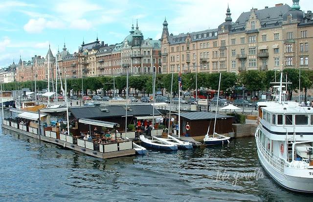 Modernismo Europa paseo en Estocolmo