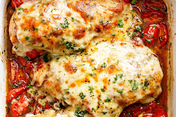 Best Balsamic Baked Chicken Breast With Mozzarella Cheese Recipe