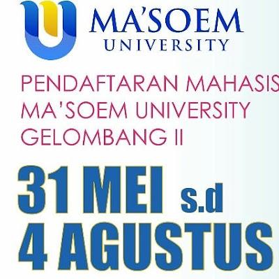 pendaftaran-mahasiswa-ma'soem-university-2019