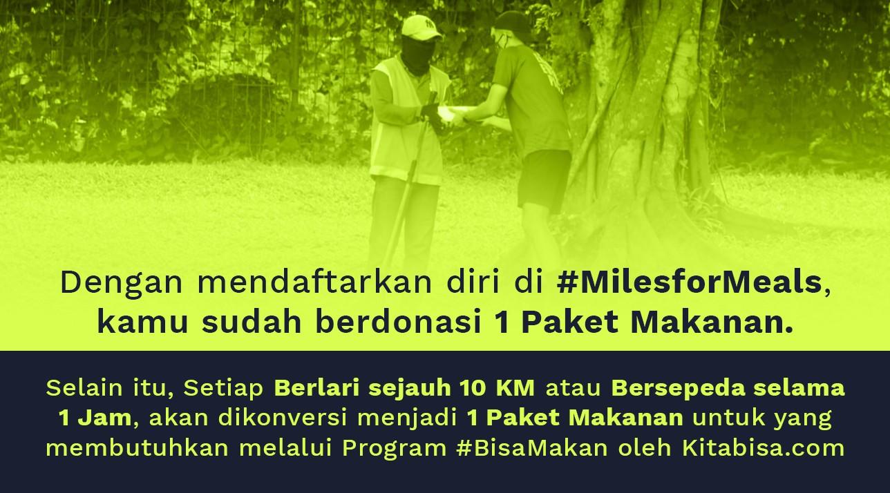 #MilesforMeals Virtual Run & Ride • 2021