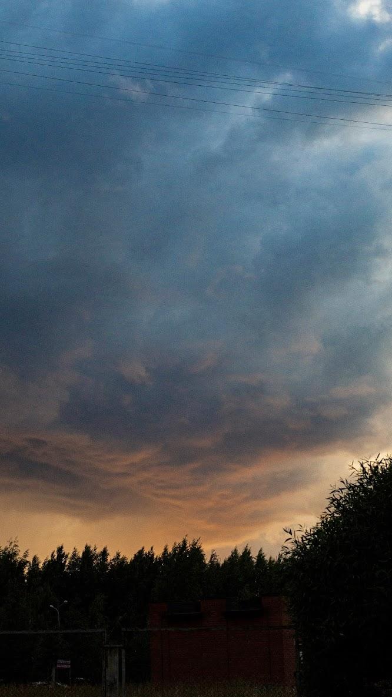 Cloud before storm SPb Piter Saint Petersburg Begovaya