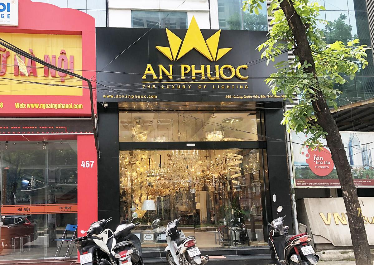 Cửa hàng đèn trang trí An Phước ở 469 Hoàng Quốc Việt