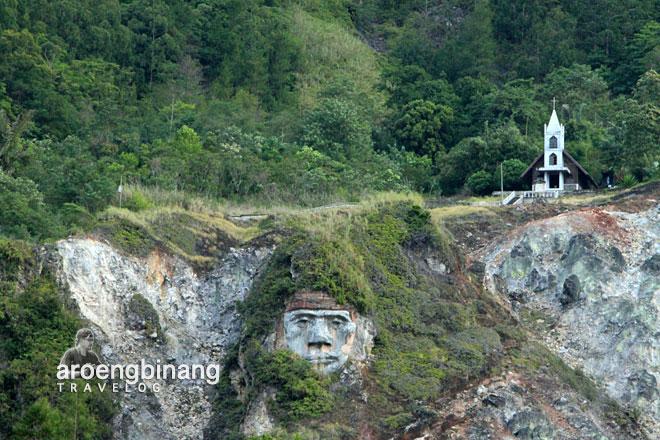 patung toar bukit kasih minahasa sulawesi utara