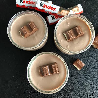 Crème au chocolat Kinder