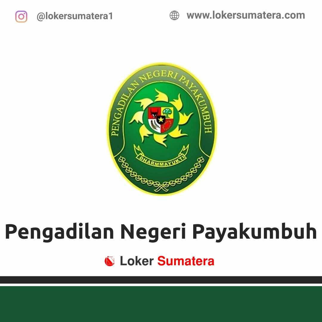 Lowongan Kerja Payakumbuh: Pengadilan Negeri Payakumbuh April 2021
