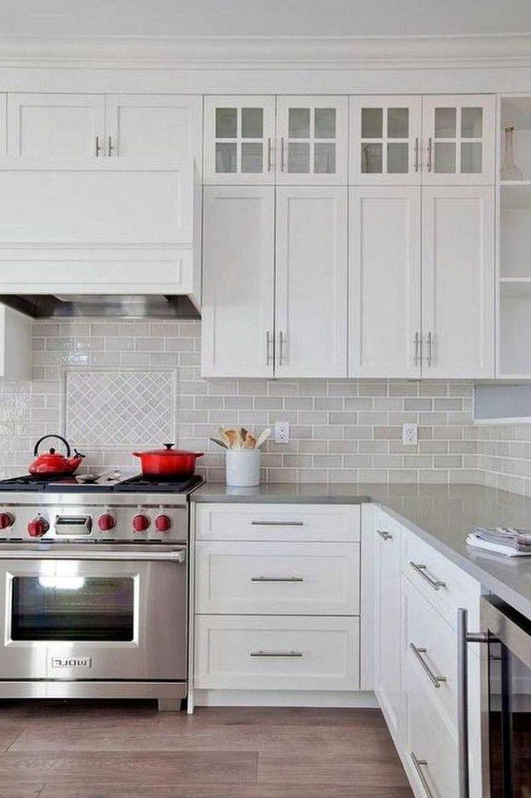 5 Modern Kitchen Backsplash Ideas With White Cabinets ...