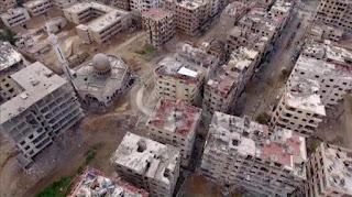 Tewaskan 1.000 Lebih Orang, Pasukan Assad Kuasai Kota Penting di Ghouta
