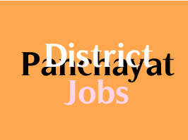District Panchayat Jobs 2020