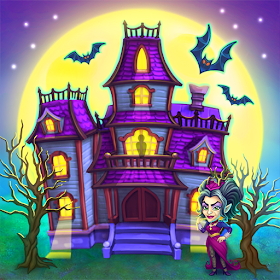 Download MOD Monster Farm - Happy Ghost Village - Witch Mansion Latest Version