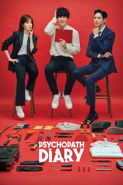 Review dan Sinopsis Drama Korea Psychopath Diary Lakonan Yoon Si Yoon, Jung In Sun, Psychopath Diary Poster,