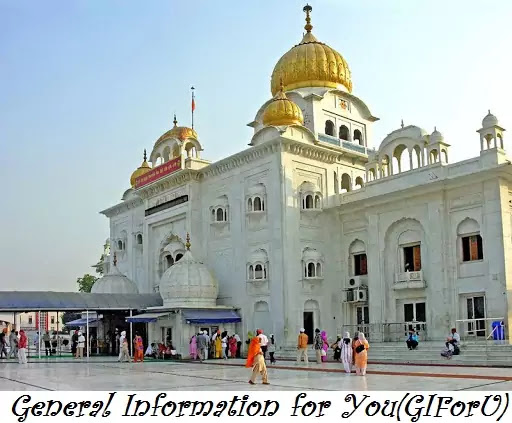 Gurudwara bangla sahib-Best Tourist Places to Visit in Delhi India-GIforU
