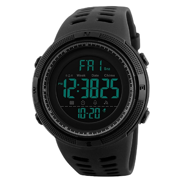 SKMEI Digital Dial Men's Watch