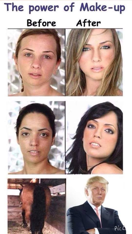 The power of Make-up