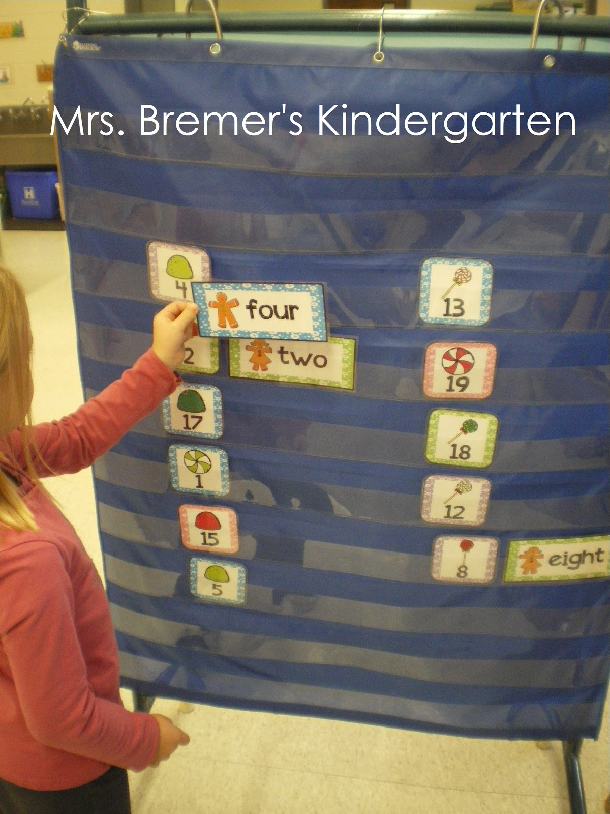 Christmas Themed Math Kindergarten Addition Worksheet