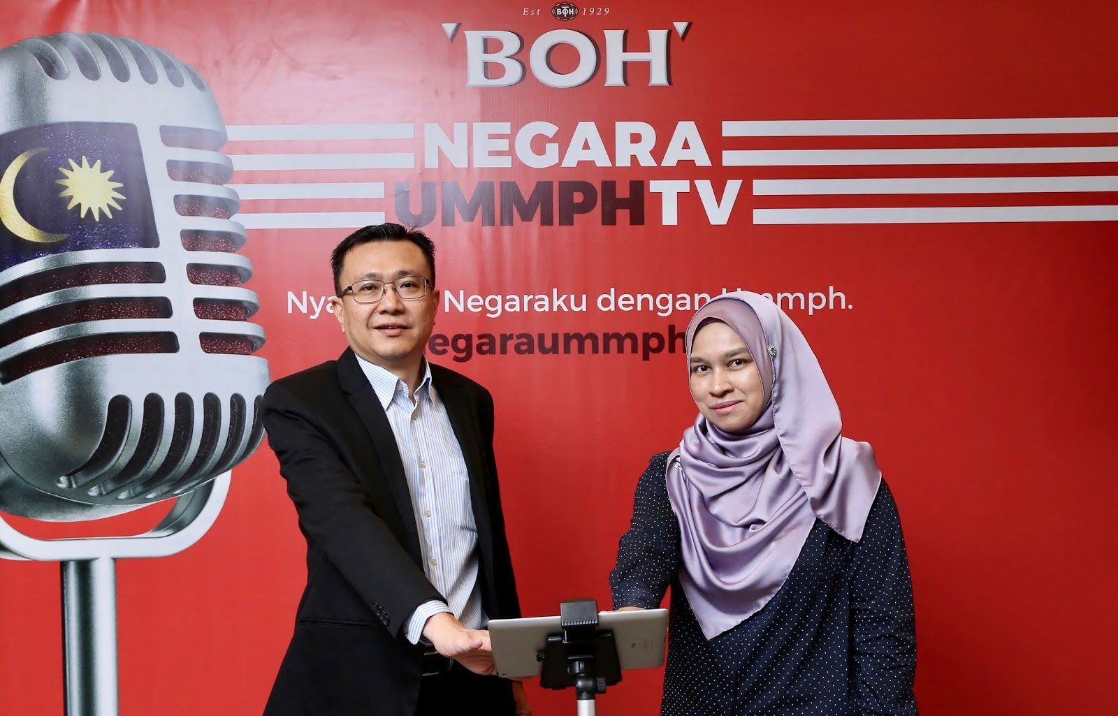 BOH LAUNCHES NEGARAUMMPH TV FOR NATIONAL DAY
