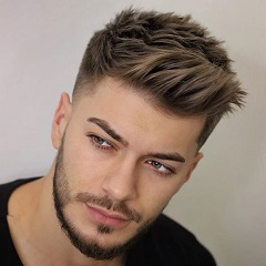 short haircut men