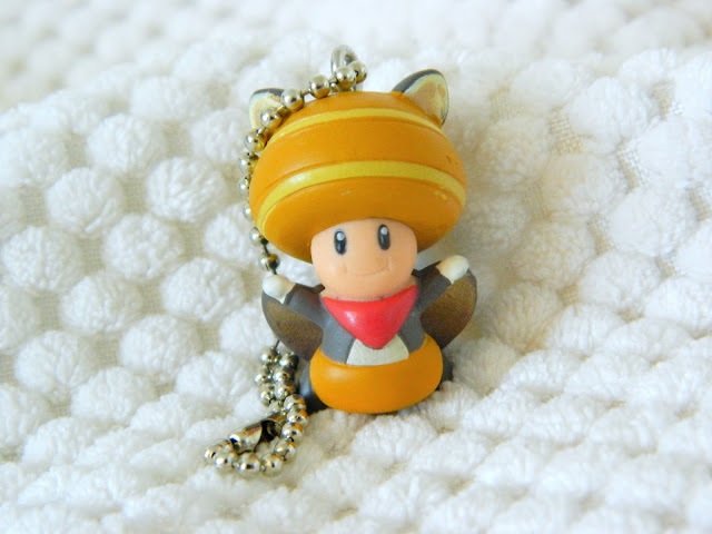 Toys for a Pound super mario brothers toad keychain figure