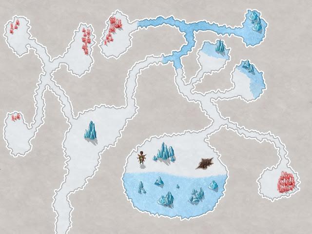 Aventura de Navidad para Dungeons & Dragons - La Frontera del Invierno (2ª Parte) - Saqueo de la Grieta