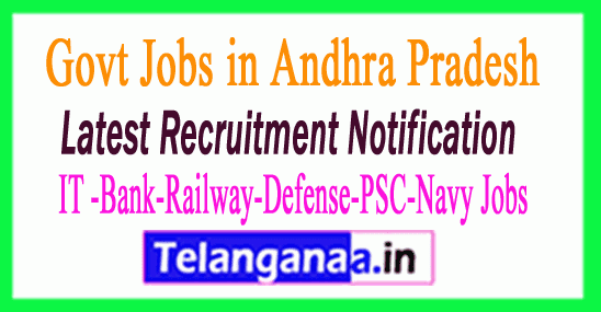 Latest Andhra Pradesh Government Job Notifications All India
