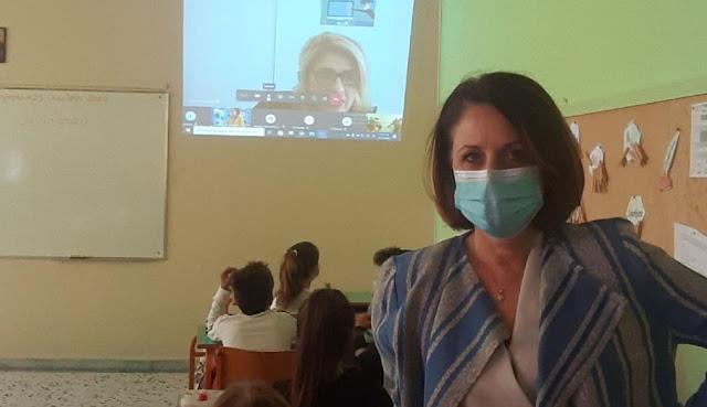 """Διαδικτυακή εκδήλωση στο 4ο Δημοτικό Σχολείο Ναυπλίου με θέμα: """"ΣΚΕΨΟΥ & ΔΡΑΣΕ για ένα ασφαλέστερο διαδίκτυο"""""""