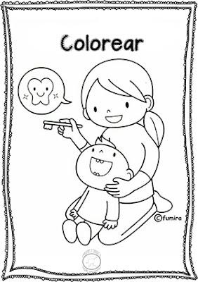 Actividades de dientes para preescolar