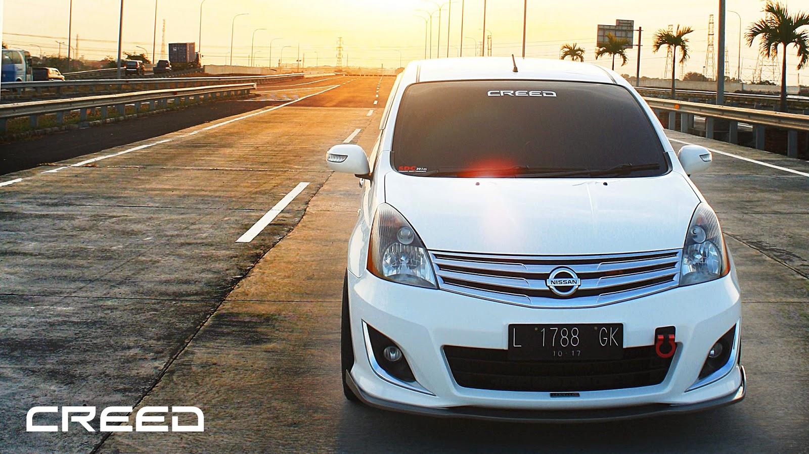 Gambar mobil grand livina putih modifikasi mobil