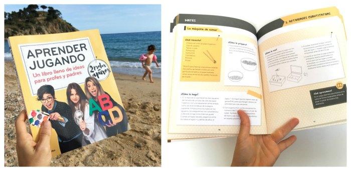 libro actividades e ideas para aprender jugando, 2 profes en apuros