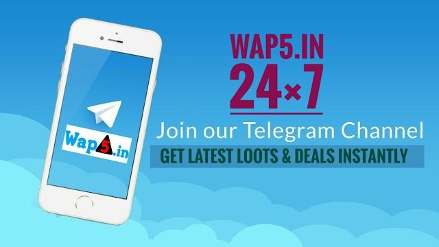 Introducing Wap5 Telegram Channel - Fast Deals & Loot Offers Update (24×7)