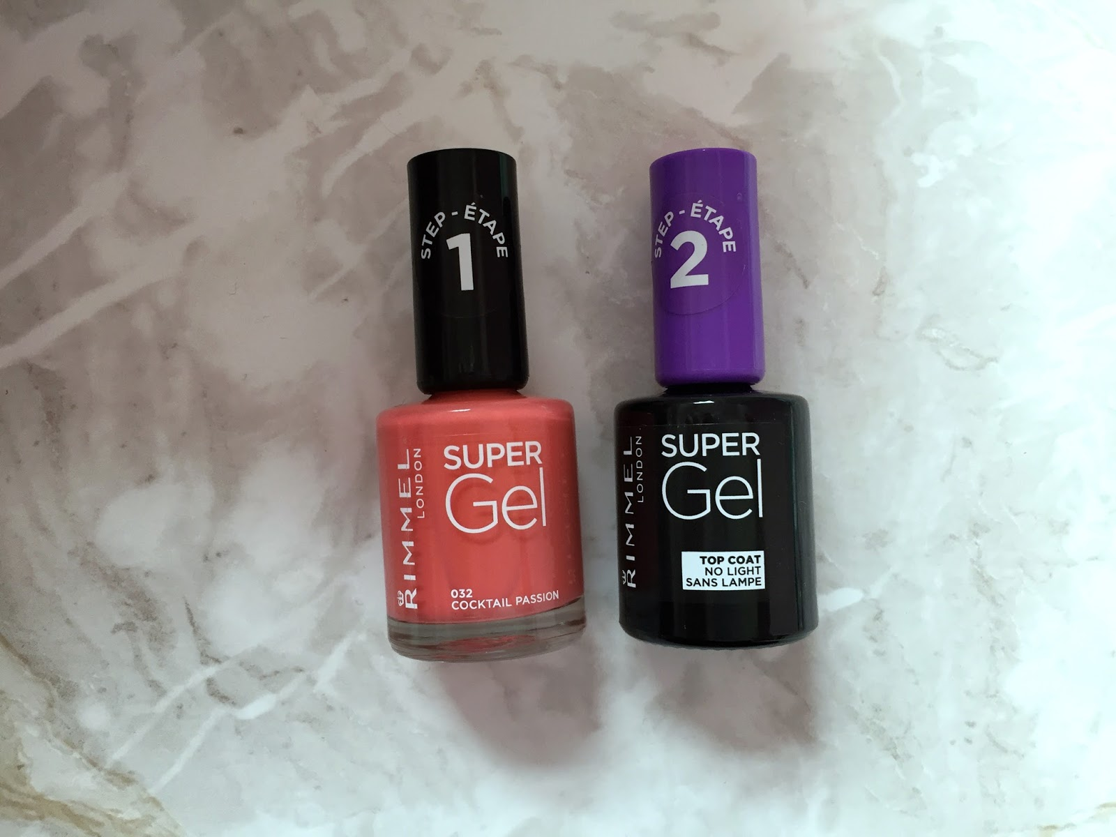 Rimmel Super Gel Nail Polish And Super Gel Top Coat - Is It Really A ...