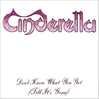 Don´t know what you got (till It´s gone). Cinderella