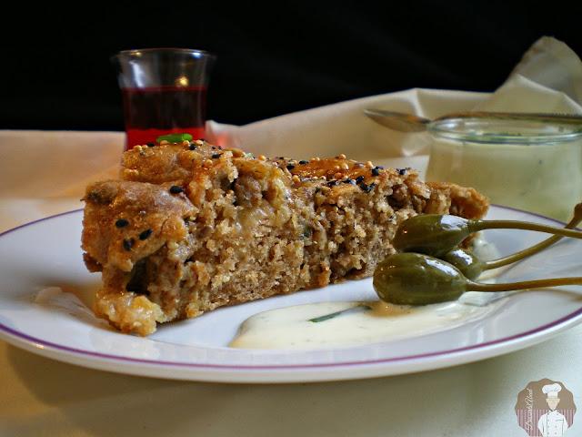 Porción de Börek con harina de espelta