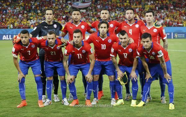 تشكيل تشيلى ضد بيرو امم افريقيا 2019 عبر سوفت سلاش