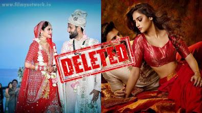 Nusrat Jahan deleted her marriage photos from instagram