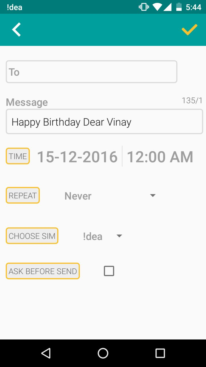 How To Automatically Send Someone Birthday Greetings Mail At 12 Am
