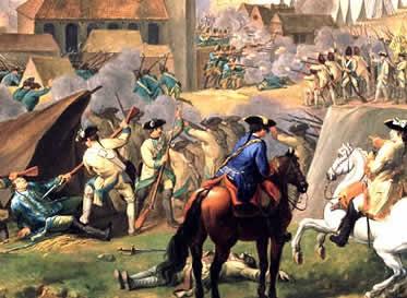 Guerra dos Sete Anos na Europa (Inglaterra e França, 1756-1763)