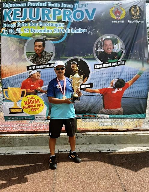 Jember Layak Gelar Turnamen Tenis Internasional