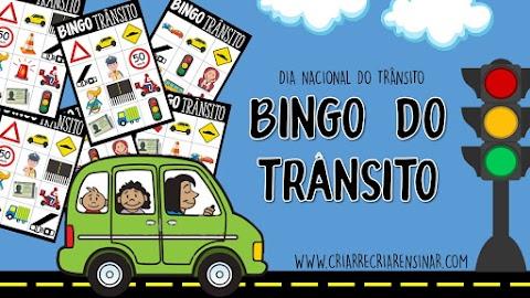 SEMANA NACIONAL DO TRÂNSITO - BINGO