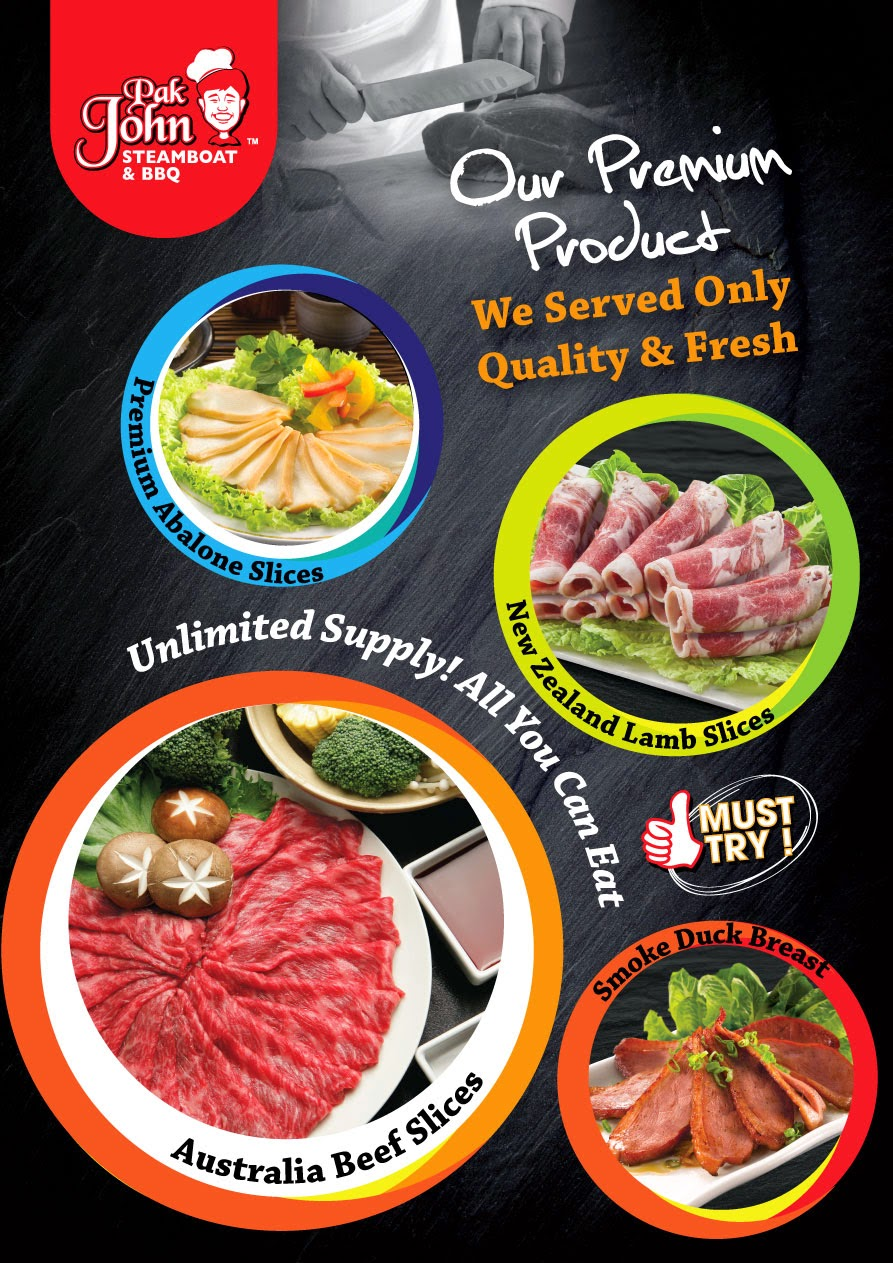 Premium Item Pak John Steamboat & BBQ