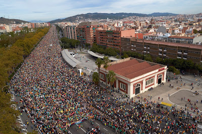 572 injured, 170 arrested, 9 detained in a massive carnage of the Spanish State against the Catalan national minority in 5 days