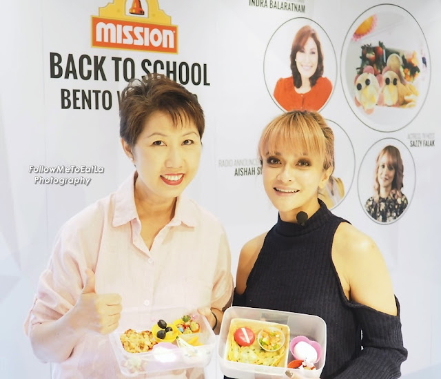 Thumbs Up To Sazzy Falak's Snazzy Mission Bento Box
