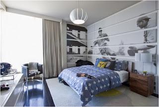 Dormitorio para joven moderno