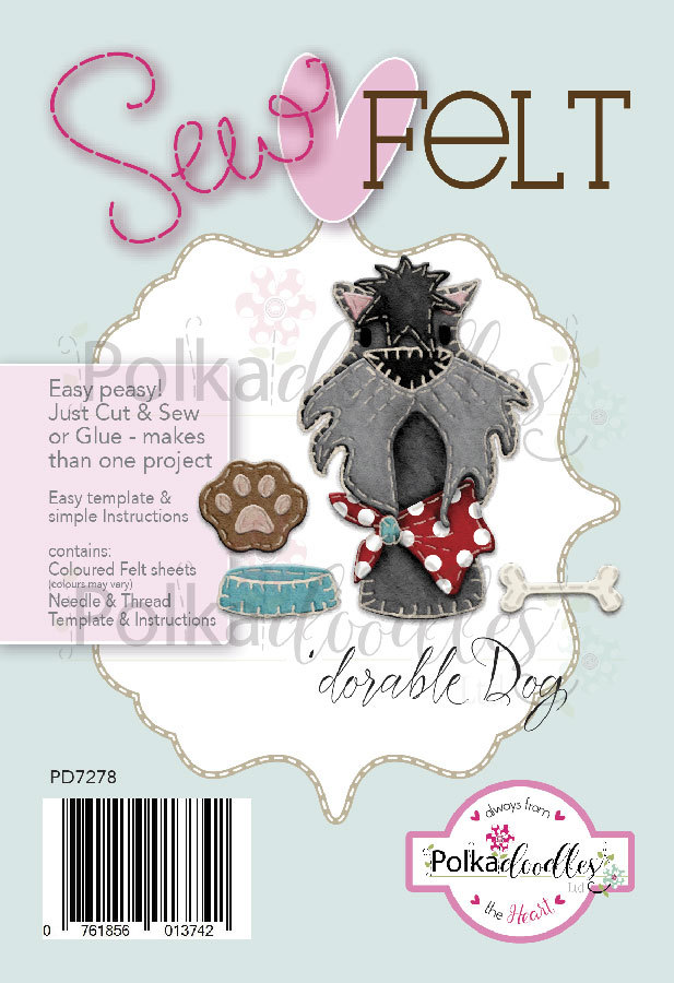 Sew felt dorable dog httppolkadoodles polkadoodles sew felt dorable dog maxwellsz