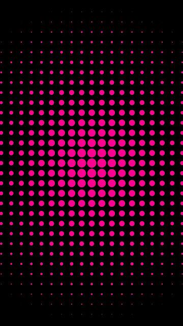 Pink Dots Abstract HD Wallpaper