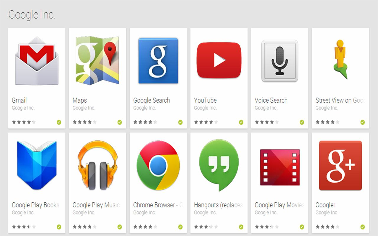 Google Services For Android