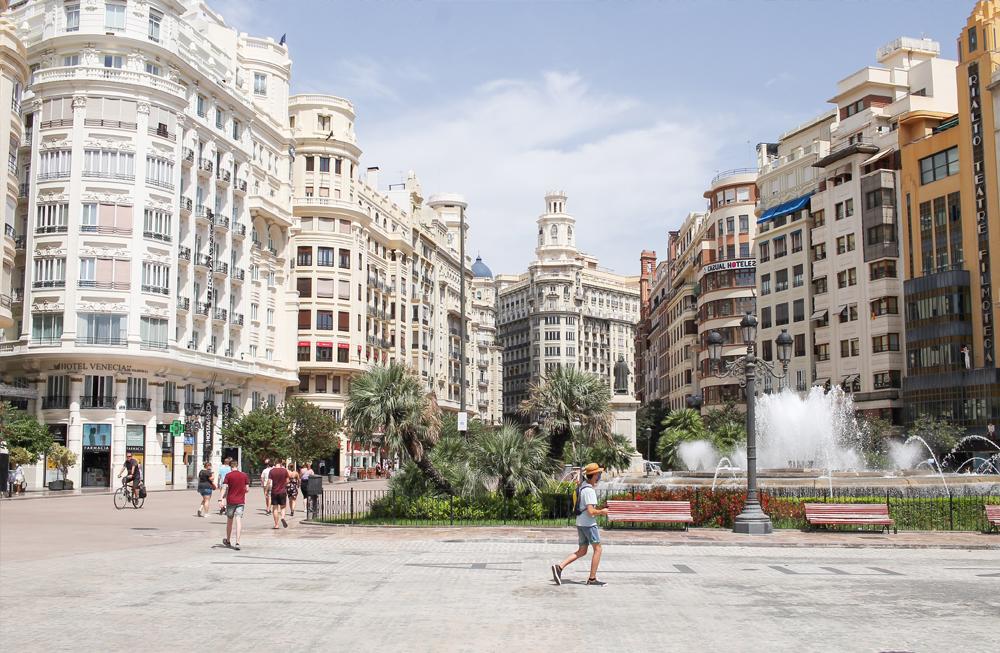 callejeando valencia ciudad ayuntamiento