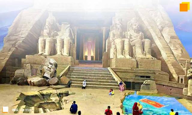 Kunjungan Wisata Amazing Art World