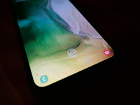 in-display fingerprint sensor - Samsung Galaxy A50