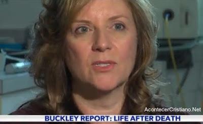 Mujer dice haber visto a Jesús en el cielo cuando estuvo en coma