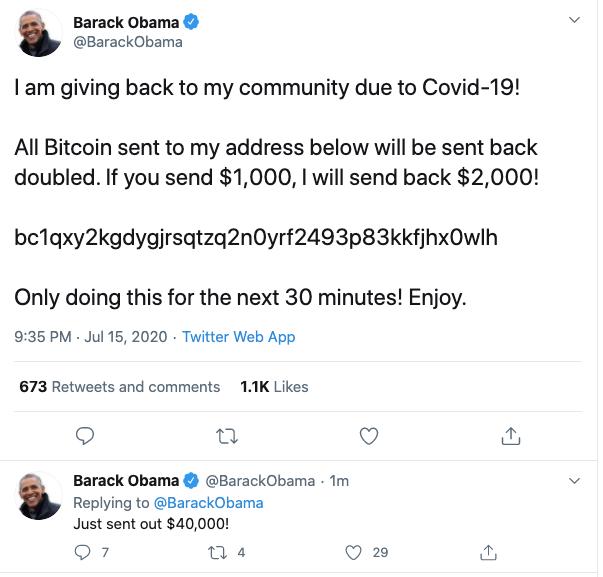تويتر باراك اوباما